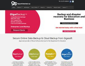 Gigasoft Data Backup