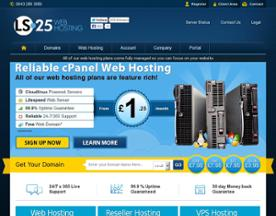 LS25 Web Hosting